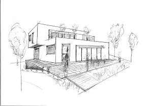 HD wallpapers architecture moderne maison dessin animated ...