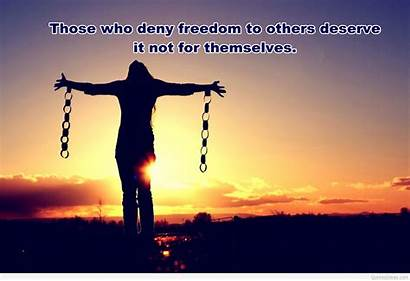 Freedom Wallpapers Quote America Unfree Deal Try