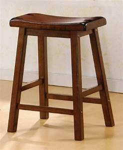 Coaster 180069 Brown Wood Bar Stool - Steal-A-Sofa