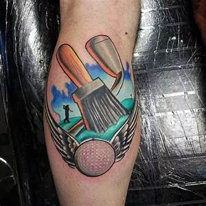 40 Golf Tattoos For Men