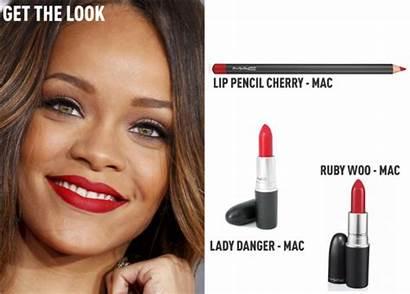 Ruby Woo Mac Rihanna Rock Batom Maquiagem