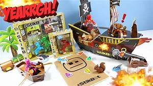 Stikbot Pirate Movie Set Review And A Huge Box Of Swag