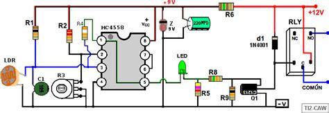 Fotocelda Interruptor Controlado Por Luz Con Ldr
