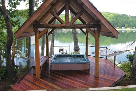 successful hot tub planning professional deck builder