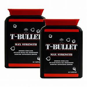 Genuine Original T Bullets Extreme Testosterone Booster
