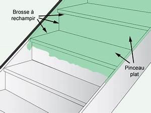 Comment Vitrifier Un Escalier : comment peindre un escalier leroy merlin ~ Farleysfitness.com Idées de Décoration