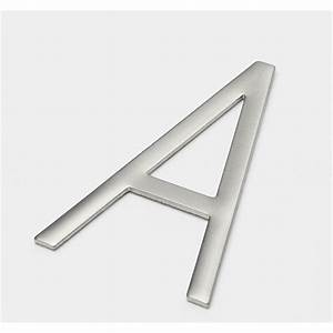 sandleford 85mm a stainless steel self adhesive neo letter With peel and stick letters for glass