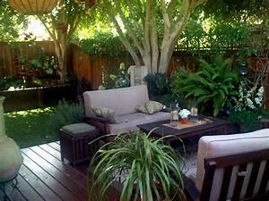 small backyard designs townhouse landscaping gardening With deck and patio ideas for small backyards
