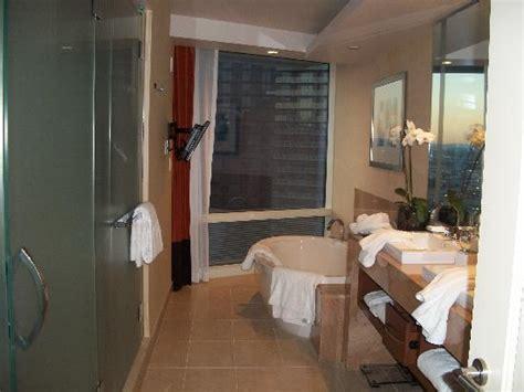 Bathroom In Corner Suite  Picture Of Aria Resort & Casino