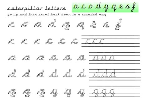 letter formation practice sheets ladder robot zig