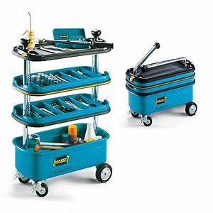 Hazet HZ166N: Collapsible Tool Trolley