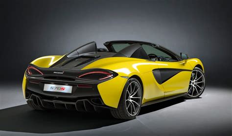 Spyder Price by 2018 Mclaren 570s Spider Price Specs Review
