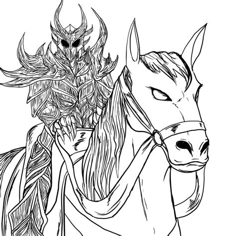 skyrim coloring pages coloring home