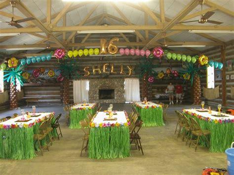 Hawaiian Luau Party Decorations  Luau Themed Balloon