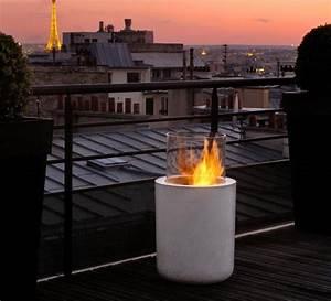 der bioethanolkamin was es zu beachten gilt schoner With feuerstelle garten mit flachdach balkon