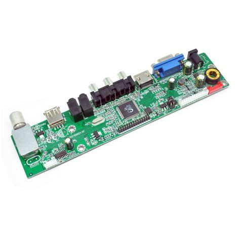 jual health care car universal lcd controller board tv motherboard vga hdmi