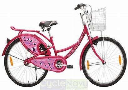Bicycle Pink Bsa Ladybird Breeze Ladies 24t