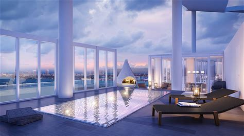 biscayne beachs premier remaining penthouse  sky