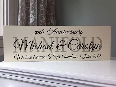 50th Wedding Anniversary Gifts For Parents-gift Ideas-party