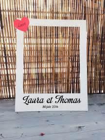 cadre photobooth mariage photobooth cadre polaroïd pour mariage grand format autres papeterie par crea graphic