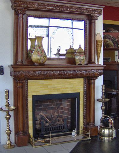 ornate fireplace mantle antique fireplace mantels
