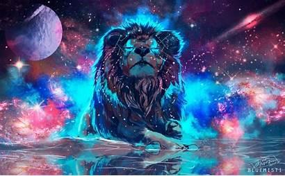 Ultra 4k Lion Wallpapers Desktop Digital Colourful