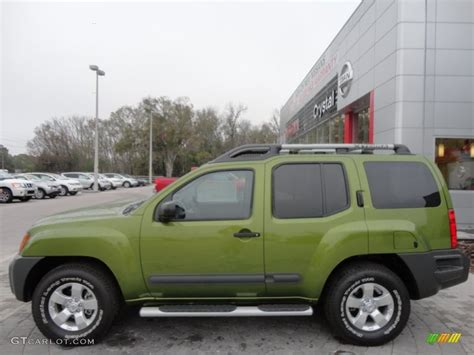 nissan green metallic green 2012 nissan xterra s exterior photo