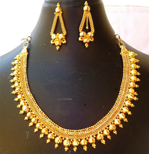 22k gold plated indian wedding 8 bridal necklace earrings f ebay