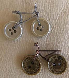 Fun and Cute DIY Button Crafts Bike craft, Bracelets and