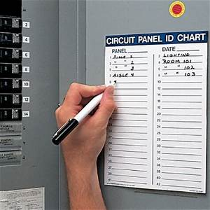 circuit panel id chart kit circuit breaker seton With electrical panel identification labels