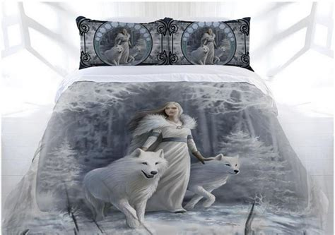 duvet covers for size bed stokes quot winter guardian quot bed doona cover set