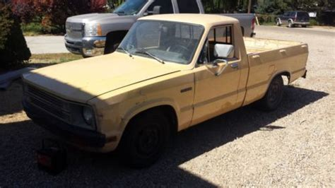 all car manuals free 1987 ford courier security system buy used 1980 ford courier turbo 2 3 thunderbird fuel injected with extras runs and drive in