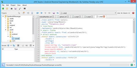 decompile edit recompile apk files apk studio