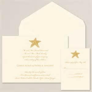starfish wedding invitations exclusively weddings starfish wedding invitation