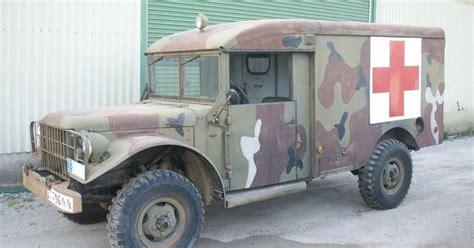truck ambulance dodge power wagon