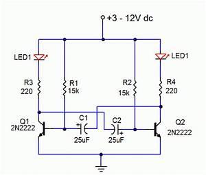 Led Flasher 2 Circuit Diagram World