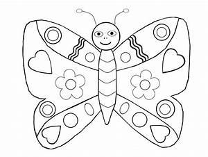 Dessin Facile Papillon : coloriage de papillon difficile ~ Melissatoandfro.com Idées de Décoration