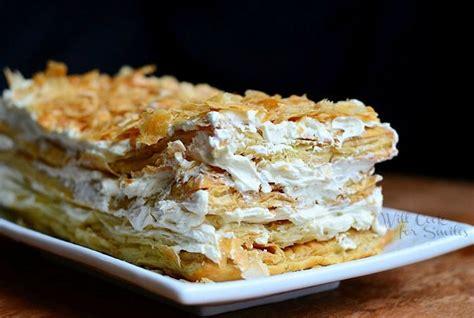 napoleon pastry napoleon cake food drink pinterest