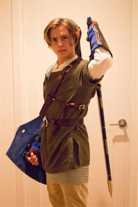 cosplay halloween link legend  zelda cole sprouse