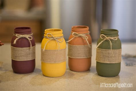 DIY Fall Mason Jar Project