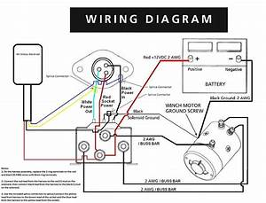Two Solenoid Winch Wiring Diagram