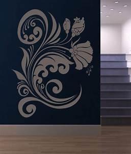 Buy destudio flower wave wall art stickers
