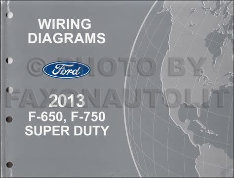 2015 Ford Duty Wiring Diagram by 2013 2014 Ford F 650 And F 750 Duty Truck Wiring