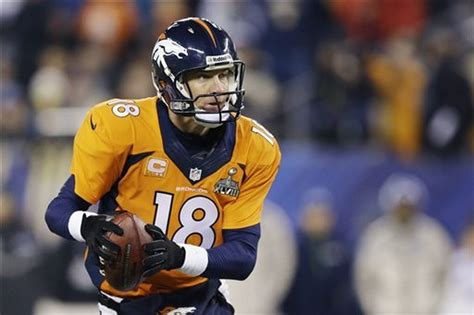 Fan Line Fans Saw A Different Peyton Manning In Super