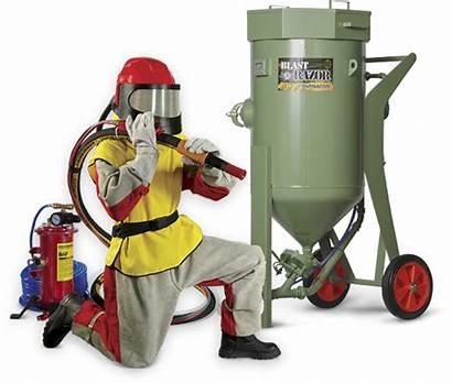 Abrasive Blasting Equipment Machine Blast Safety Sandblasting