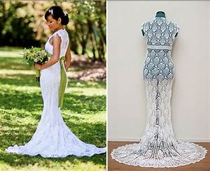 6 amazing crochet wedding dresses beautiful crochet stuff With crocheted wedding dress