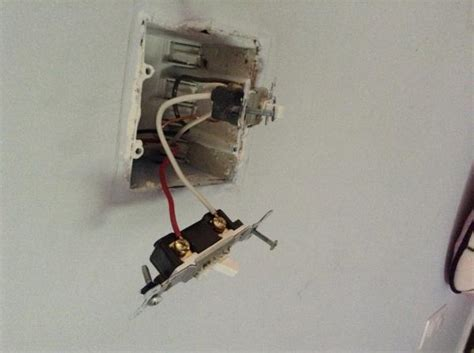 replace ceiling fan light switch replace light on switch loop with ceiling fan