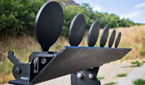 steel target plate rack  sport plate rack     thick ar armor steel