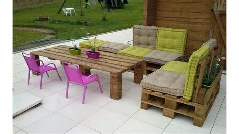 salon de jardin palette dunlopillo diy pallet patio furniture penmie bee