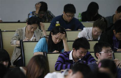 How One Test Can Set The Course Of A Student's Life In China  Business Insider